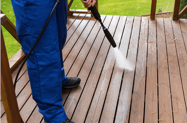 deck cleaning fontana