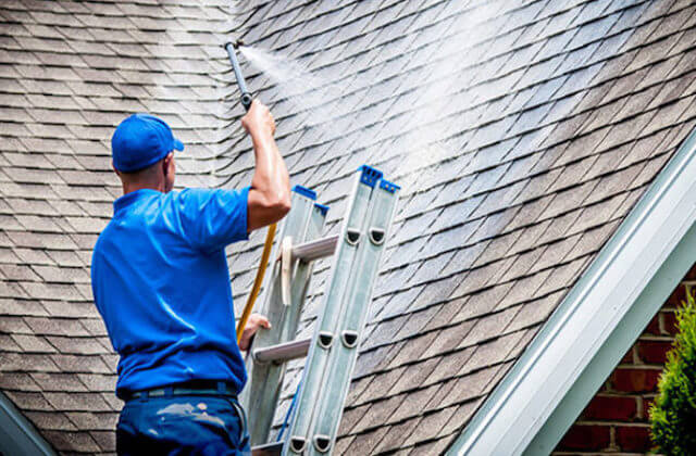 fontana roof cleaning