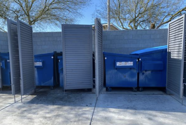 dumpster cleaning in fontana
